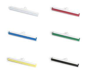 Nölle HACCP Hygiene-Wasserschieber 45 cm stabil verstäkt weiß//rot//blau//grün//blau