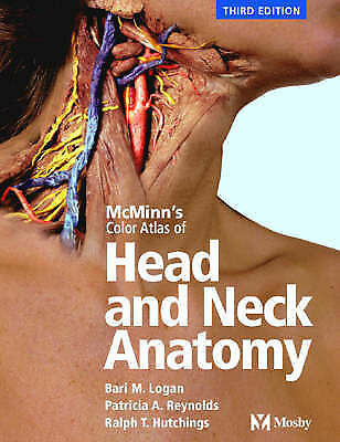 (Very Good)-McMinn's Color Atlas of Head and Neck Anatomy (Hardcover)-Reynolds B