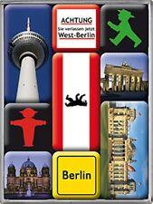 Images of Berlin set of 9 mini fridge magnets   (na)