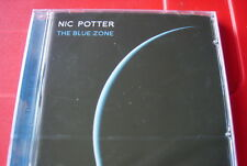 Nic Potter The Blue Zone CD NEW SEALED 2009 Van Der Graaf Generator Snowy White