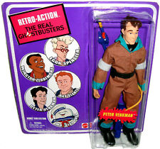 Real Ghostbusters Peter Venkman  Retro-Action Figure MIB Matty Collector #V0683