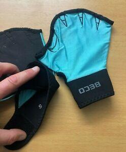 BECO Unisex Erwachsene Wasserhandschuhe Aquatic Handschuhe Schwimmhandschuhe L