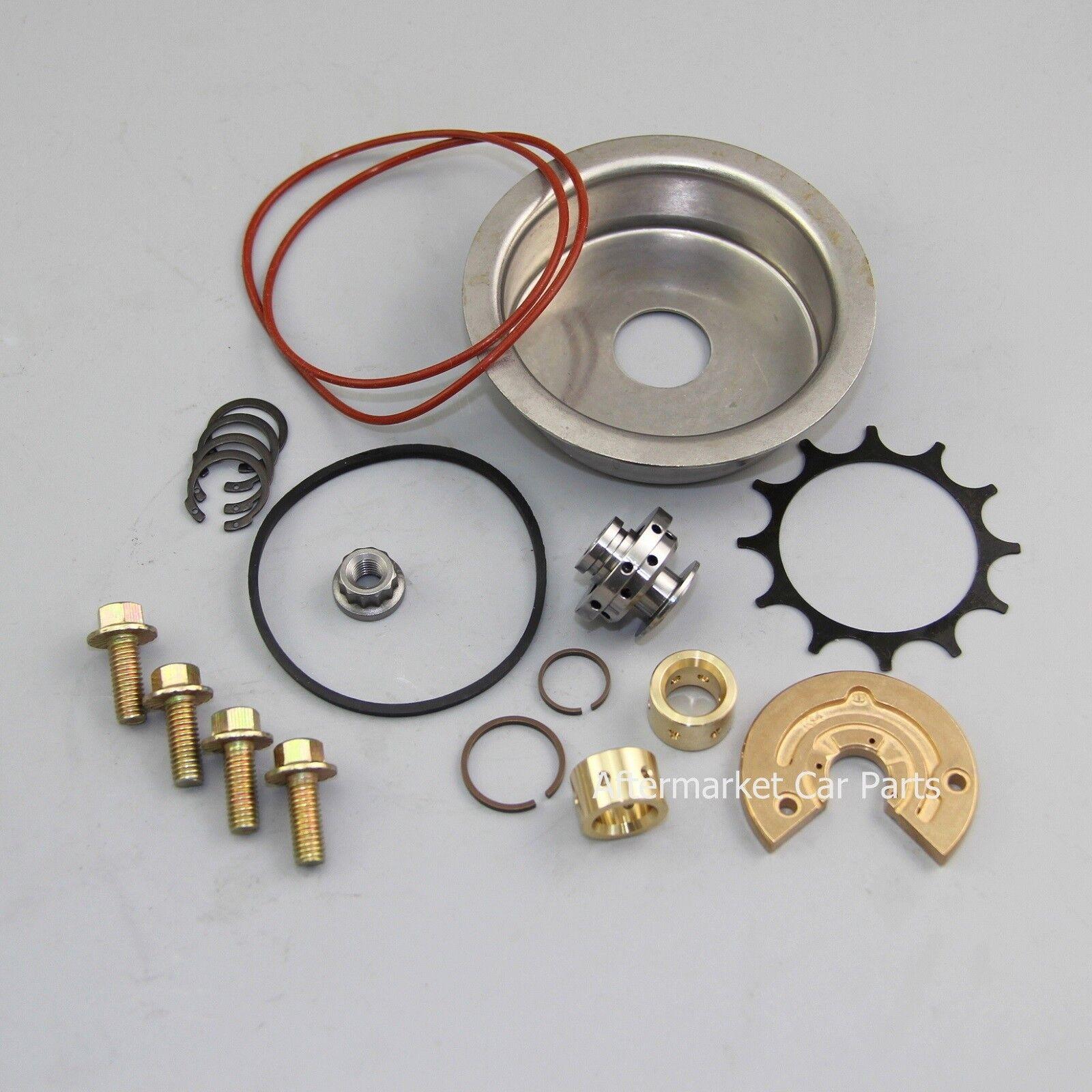 labwork Turbo Charger Rebuild Repair Kit Fit for Garrett T3T4 T3 T4 T04E TB03 TC03 T04B Thrust Journal Bearing Spring Turbine O-Ring