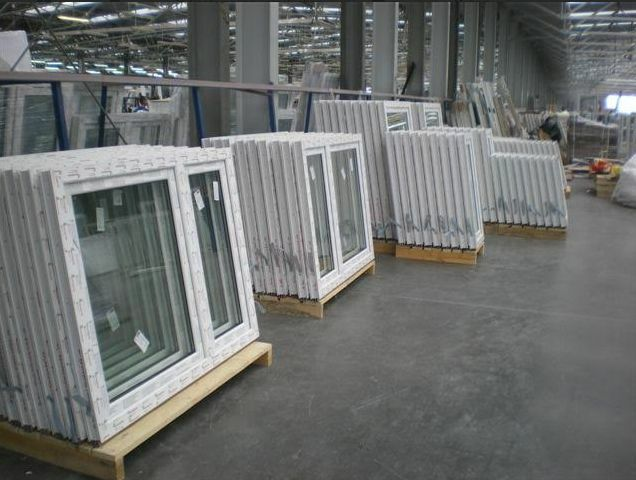 Kunststofffenster DREH/KIPP - DREH Breite:100-135  AFG OVLO Rondo 6-Kammer Weiß