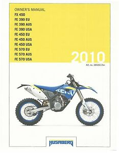 husaberg owners manual 2010 fe 450 eu fe 450 aus fe 450 usa ebay rh ebay co uk 2010 husaberg fe 450 service manual husaberg fe 450 570 repair manual.pdf