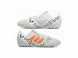 adidas-Nemeziz-Messi-Tango-17-3-Turf-Sizes-12-1-Childs-White-RRP-55-Brand-New