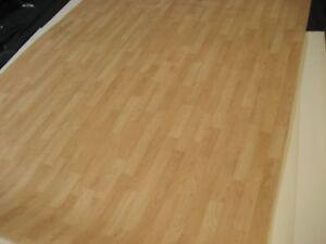 7143 hochwertiger PVC Belag 200x613 sehr robust Rest Boden Kiefer ...