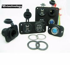 Socket Mounting Plate Washers 12V Dashboard Power Makes A Freestanding Panel
