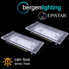 PARA BMW 3 SERIES E46 2 DOOR M3 RESTYLING 1999-2003 18 LED LUZ DE MATRÍCULA PAR