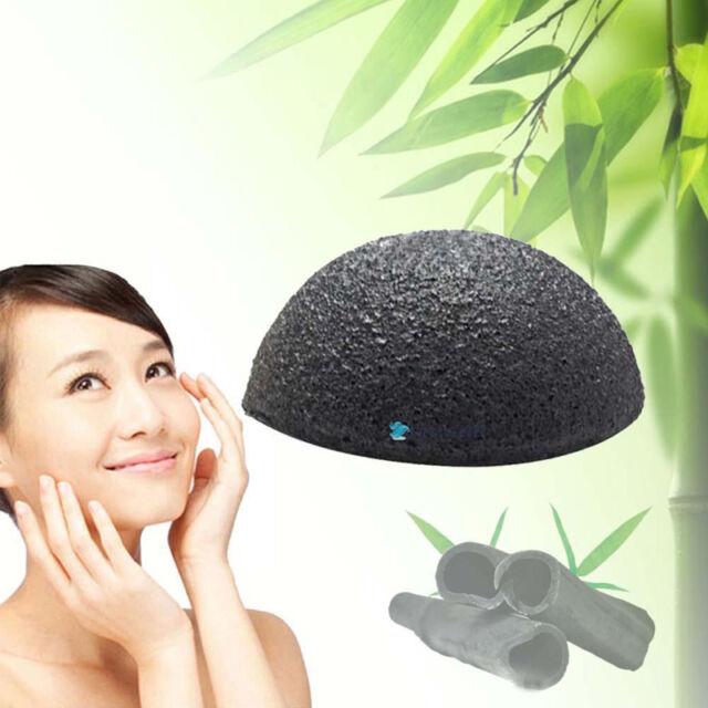 New Natural Konjac Konnyaku Facial Puff Face Cleanse Washing Sponge Exfoliator