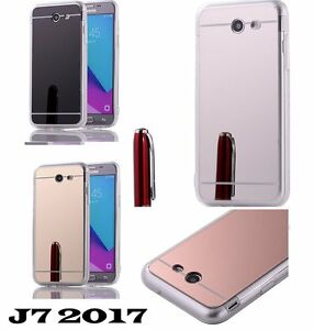 info for c1ca7 6231b Details about Samsung Galaxy J7 Prime 2017 J727t - TPU MIRROR Rubber Gummy  Phone Case Cover