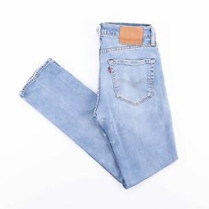 Vintage-Levi-039-s-511-Slim-Straight-Fit-Men-039-s-Blue-Jeans-W31-L32