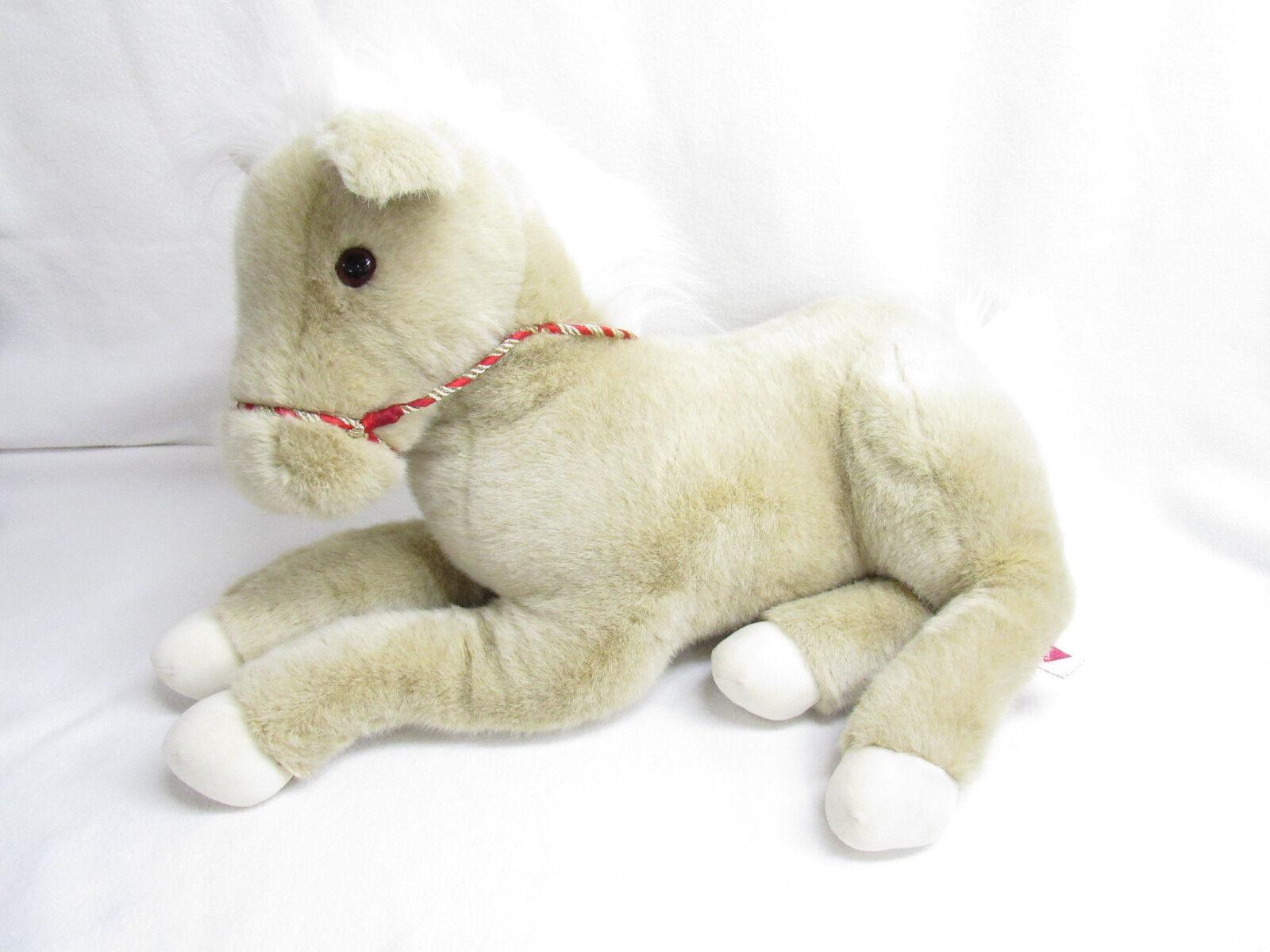 VTG 1991 DAKIN LARGE PONY HORSE STUFFED TOY