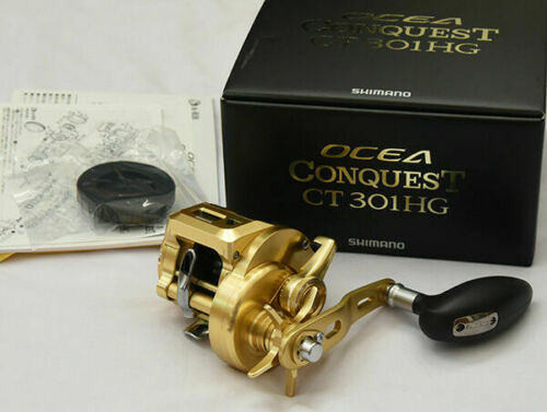Shimano 18 Ocea Conquest CT 301 PG From Japan Left handle