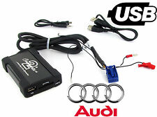 Audi A4 USB adapter interface CTAADUSB004 car AUX SD input MP3 jack 2005 onwards
