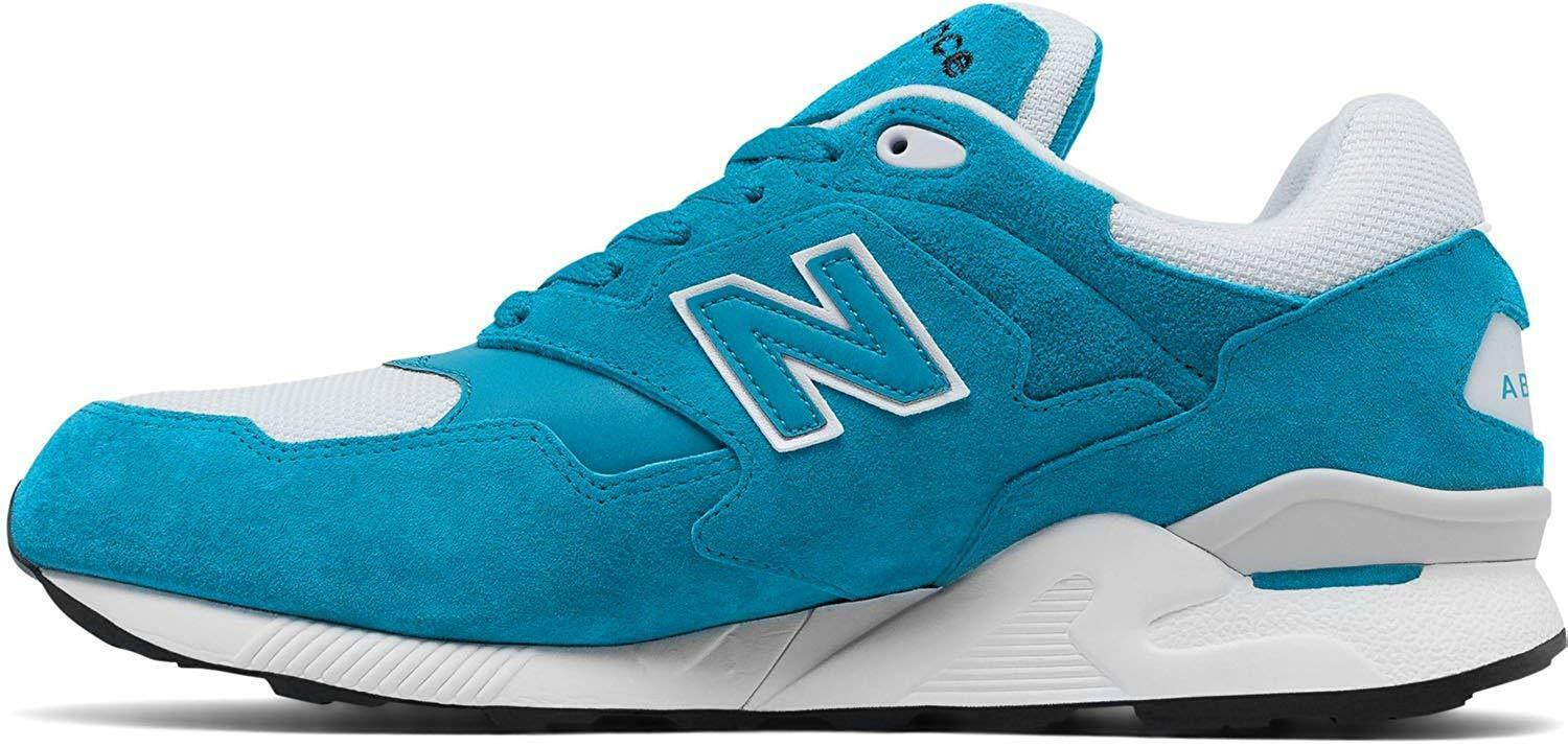 NEW New Balance 878 Running shoes Men's Withe bluee ML878RSB  Size 8.5 D