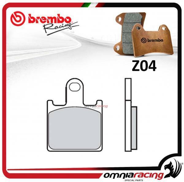 Brembo Racing Z04 pastillas freno frente sinterizado KAWASAKI ZX6R 2007>