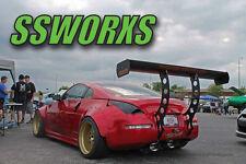 "SSworxs DeKai Rear Metal Fender Flares 17""-20 Universal fit Nissan 350z Z33 z34"