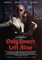 Only Lovers Left Alive Poster - Tom Hiddleston Poster, Tilda Swinton (german)