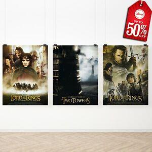 Poster trilogia il signore degli anelli locandina film arredamento per camera