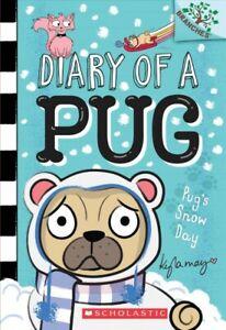 Pug-s-Snow-Day-Paperback-by-May-Kyla-May-Kyla-ILT-Brand-New-Free-ship