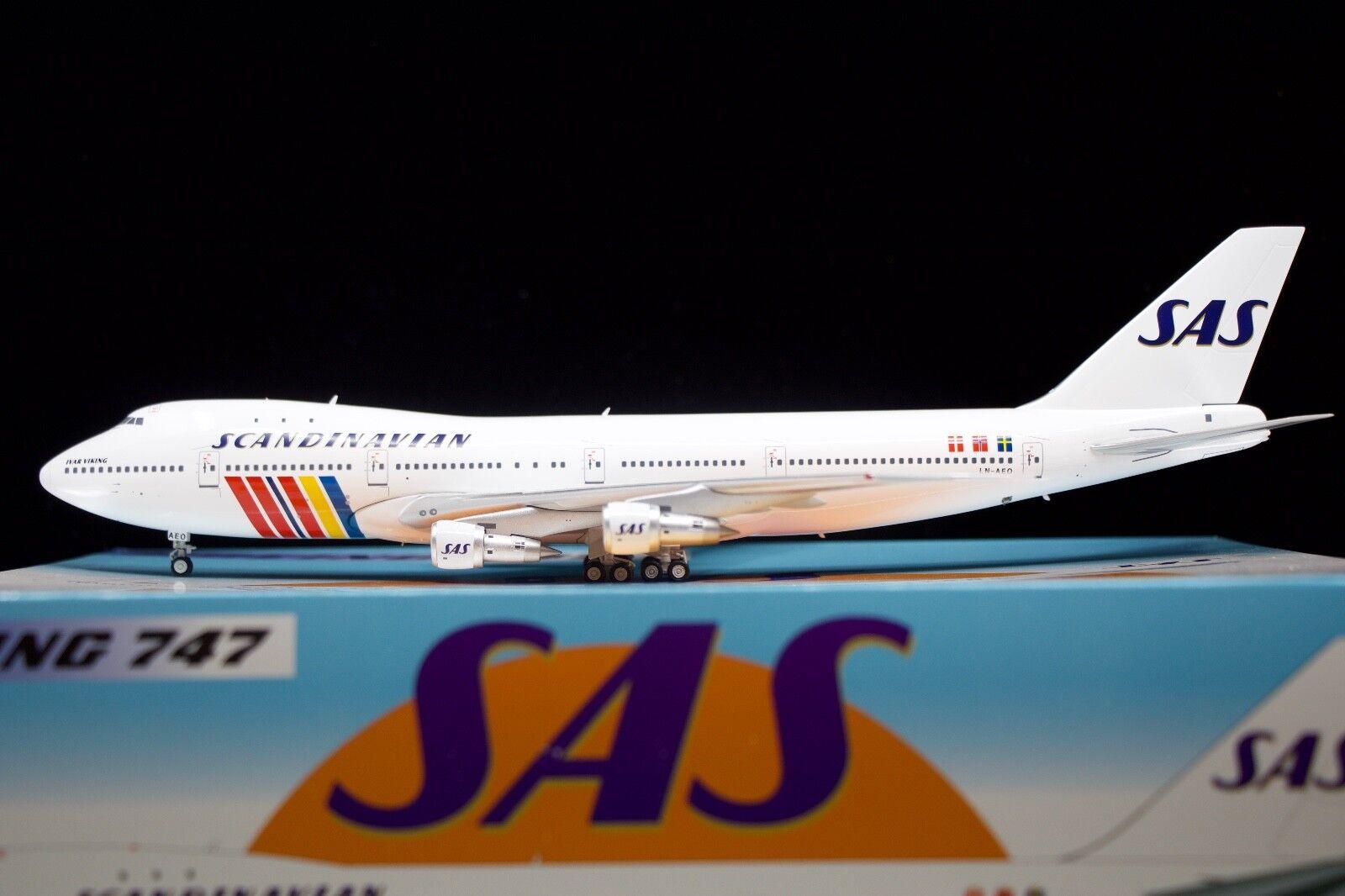 Inflight200 SAS 747-200 'Ivar Viking' LN-AEO
