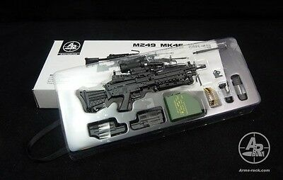 Arms-rack M249 Machine Gun Box Set 1/6 Black Version