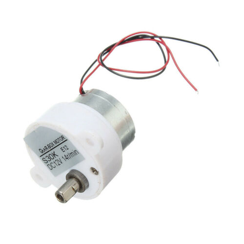 DC 12V 14RPM 2 Wires High Torque Electric Geared S30K Reduction Motor ATF