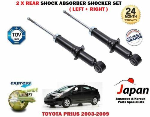 FOR TOYOTA PRIUS 1.5 HYBRID 2003-2009 2X REAR LEFT RIGHT SHOCK ABSORBER SHOCKER