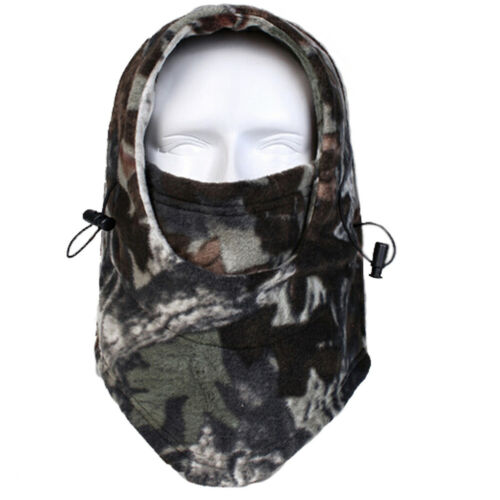 Camo Balaclava Ski Face Mask Neck Warmer Hunting Gear and Accessories for Men US