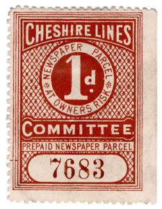 I-B-Cheshire-Lines-Committee-Railway-Newspaper-Parcel-1d