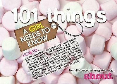 """""""AS NEW"""" , Shout Yearbook 2009 2009: 101 Things a Girl Needs to Know (Annual) Bo"""