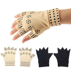 Adult-Magnetic-Therapy-Gloves-For-Arthritis-Joint-Pain-Treat-Fingerless-Glove