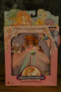 Mattel-Lady-Lovelylocks-Fashions-PARTY-DRESS-Outfit-W-FREE-SHIPPING