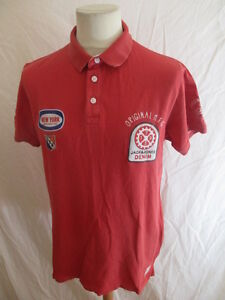 Polo-Jack-amp-Jones-Rose-Taille-L-a-46