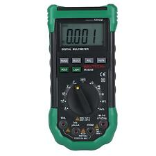 Mastech Ms8268 Digital Multimeter Sound Light Alarm Frequency Electrical Tester