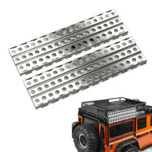 2Pcs-Stainless-Steel-Sand-Ladders-Board-for-Axial-SCX10-D90-1-10-RC-Crawler-Y4