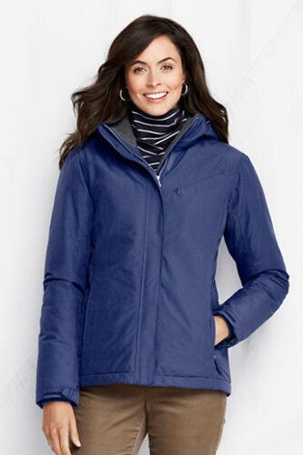 Jacket 134 Longsleeve Deep New Women's Lands End 99 Xs Blue Squall qqzXf