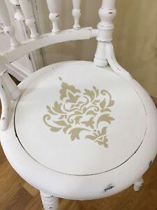 Shabby Chic Wasserf Mobeltattoo Aufkleber Stuhl Ornament Vintage Impressionen Ebay