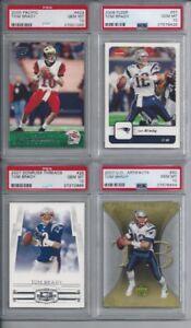 Tom-Brady-Lot-12-Incl-2000-Pacific-Rookie-All-12-PSA-10-Gem-Mint-All-Scanned