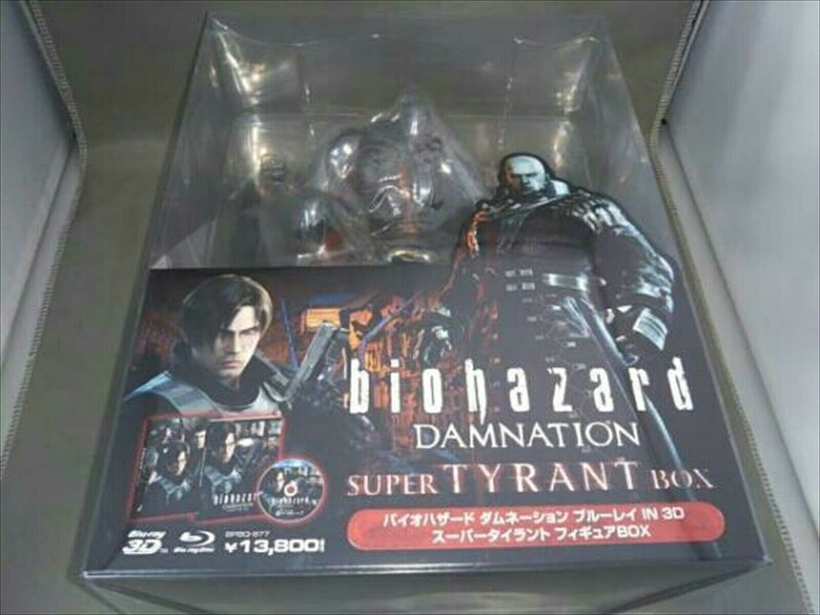 Very Good Resident Evil Damnation Super Tyrant Diorama Statue