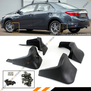 4 pcs front rear splash guard mud flaps for 2014 2015. Black Bedroom Furniture Sets. Home Design Ideas