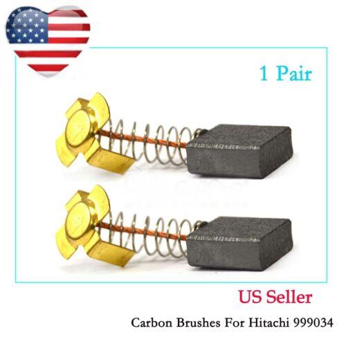 Carbon Brushes For Hitachi 999034 Cut-off Saw CS-14 PSU-7 PSB-15 7 x 17mm X 18.7