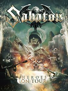 SABATON-HEROES-ON-TOUR-2-DVD-CD-NEUF