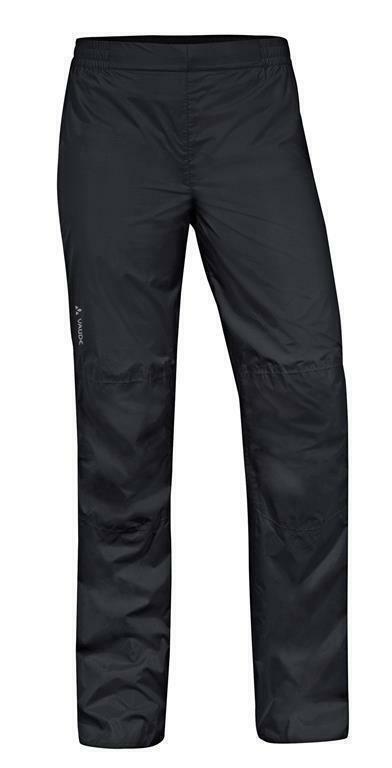 VAUDE damen Drop Pants II schwarz Größe 40-Short Regenhose für Radsport
