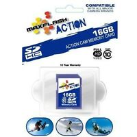 16gb Sd Card Class 10 For Gopro Hero 2 Drift Hd Stealth Mini