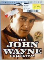 John Wayne Collection New/sealed 6 Pack (dvd, 2004, 3-disc Set) + 2 Bonus Dvd's