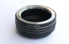 C/Y Contax Yashica to Micro 4/3 M43 M4/3 MFT Lens Mount Adapter GX8 OM-D CYM43