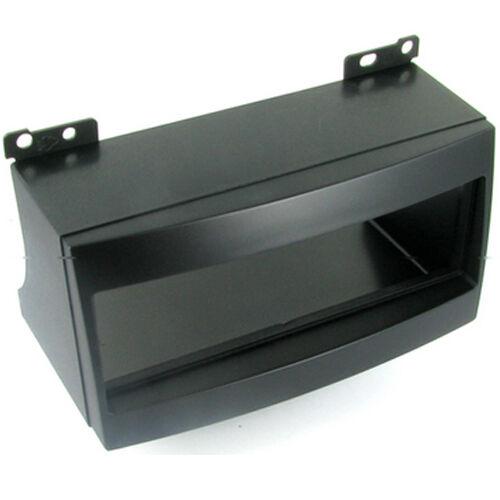 CT24KI07 para KIA CEE sería de 2007 a 2009 single DIN Panel Fascia Adaptador Negro