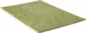 Qualite-Premium-Tapis-Shaggy-a-poils-longs-Emotion-Monochrome-Vert-OKO-TEX